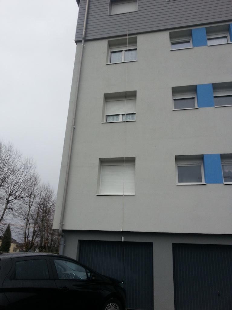 Charger sa ZoE quand on habite en appartement au 4ème étage ZOE4EMEETAGE